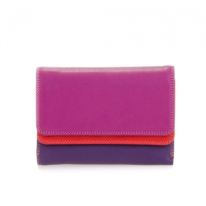 [Mywalit] Double Flap Purse/Wallet / Sangria Multi (250-75)