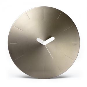 [LEXON] CONIC WALL CLOCK - soft gold - LR142D