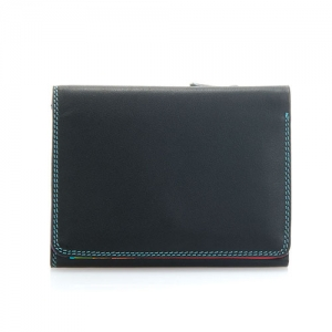 [Mywalit] Medium Tri-fold Wallet /Black/Pace (106-4)